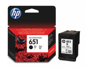 Cartus cerneala original HP 651 Black